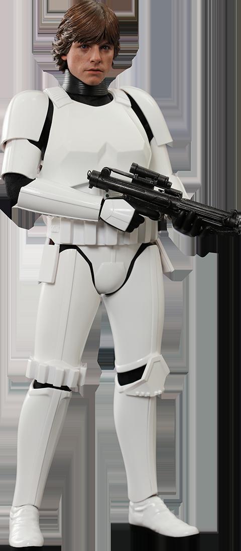 Star Wars Luke Skywalker Stormtrooper Disguise Version Sixth
