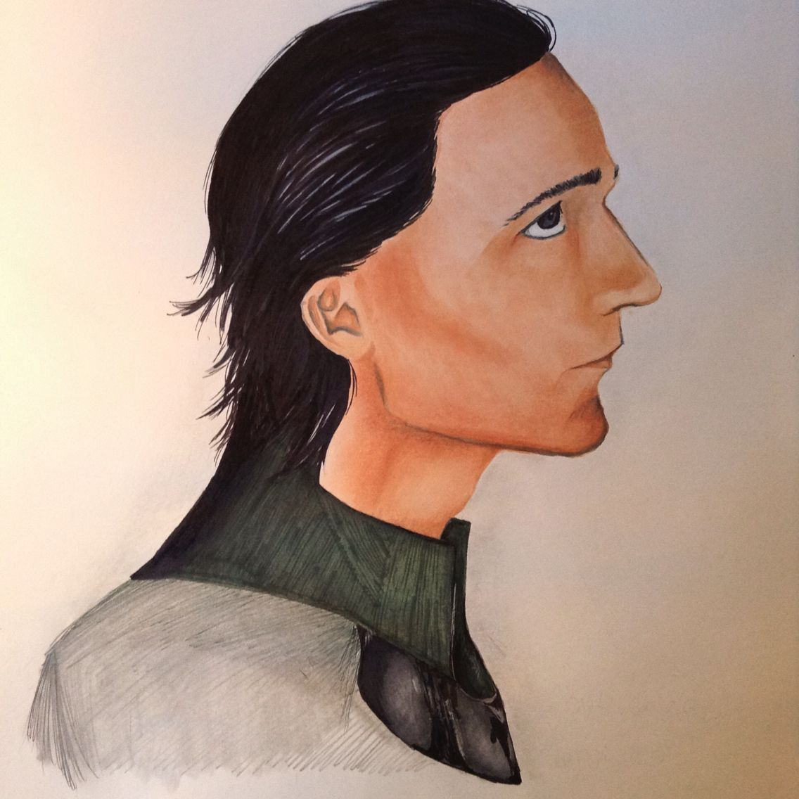 Loki in Copic by The Artists Bow.