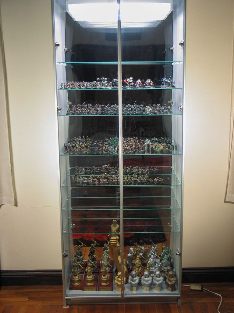 My ikea hack display case now w full tutorial page1 for Case arredate ikea
