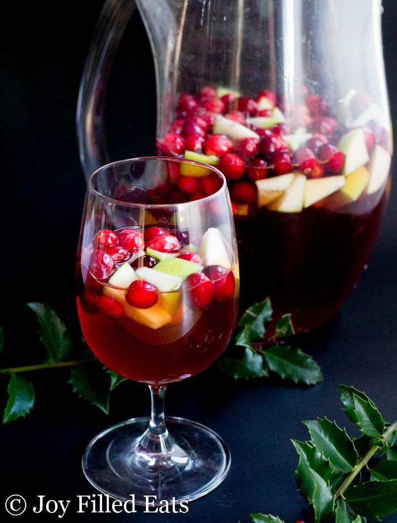 Apple Cinnamon Sangria Low Carb Sugar Free Thm Friendly Low Carb Cocktails Thanksgiving Drinks Christmas Sangria