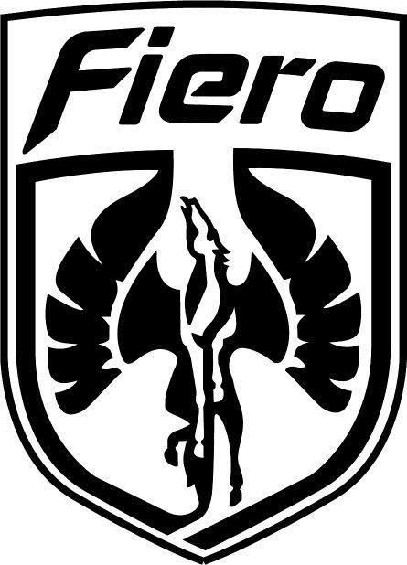 Pontiac Fiero Pegasus Emblem Decal