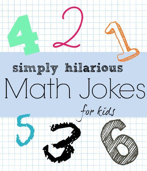 18 Really Funny Math Jokes for Kids | Kids education ...
