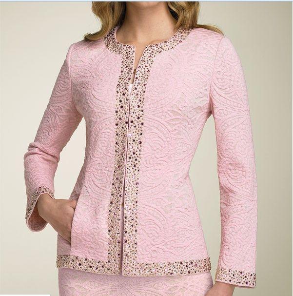 Pembe Ceket Etek Ikili Takim Modeli Ortuluyum Com Tesettur Giyim Modelleri Ve Tesettur Modasi Tasarimlari Moda Stilleri Bluz Tasarimlari The Dress