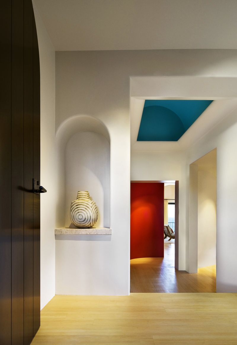 contemporary house with mexican influences mexico 2