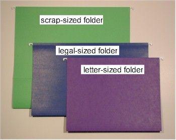 12x12 Hanging File Folders Hanging File Folders Scrapbook Organization Scrapbook Storage