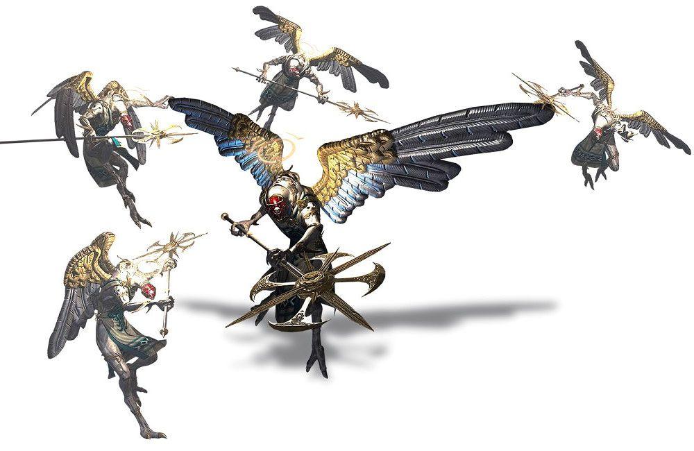 Affinity - enemy from Bayonetta