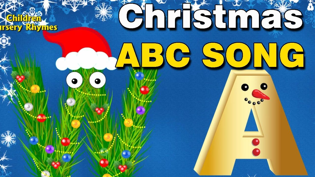 Christmas Songs for Children Santa Claus English Alphabet Song for ...