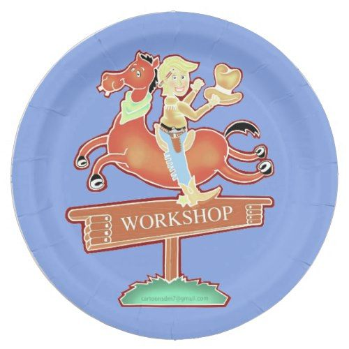 Workshop Cowboy paper plate  sc 1 st  Pinterest & Workshop Cowboy paper plate | Cowboys