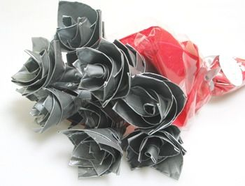 Who Says You Cant Send A Guy Flowers Our Duct Tape Roses Are The Perfect To Theyre Great For Valentines Day An Anniversary Gift