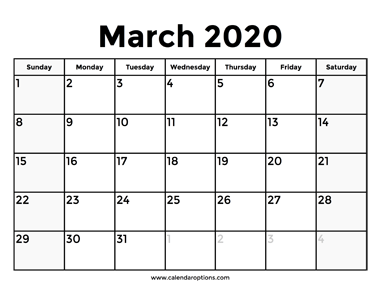 Download This March 2020 Calendar With Holidays To Know In Advance When The Next Long Weekend Will Be There A In 2020 November Calendar October Calendar Calendar June
