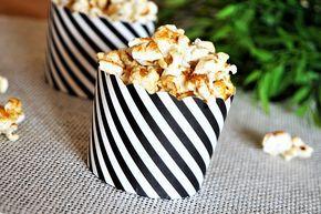 Popcorn salé parmesan et paprika