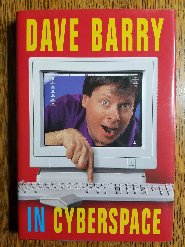 barry dave columnist comedy hardcover books cyberspace humor