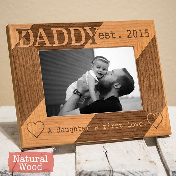 Dad Christmas Gifts From Daughter: Personalized Dad Picture Frame From Daughter
