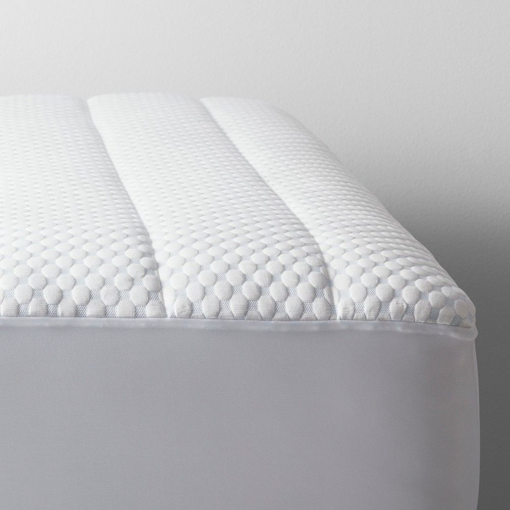 Cool Touch Mattress Pad Queen White Made By Design Mattress