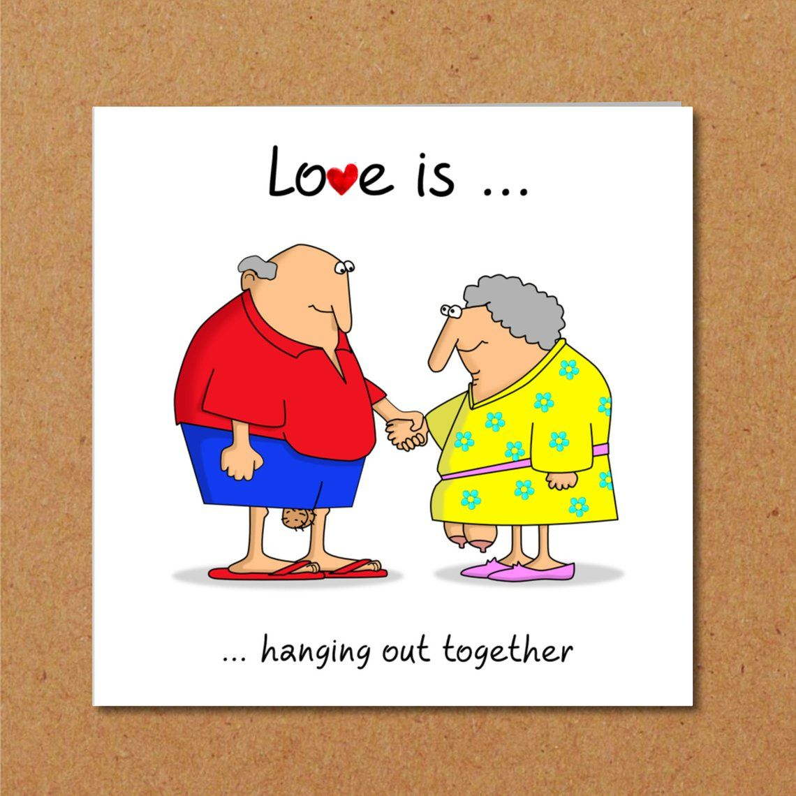 Funny birthday or anniversary card 40th 50th 60th