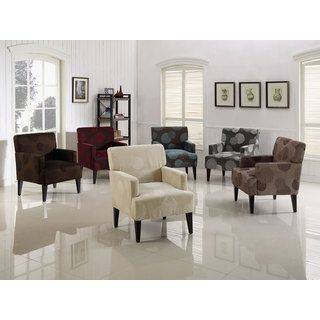 Enzo Solid Colored Accent Chair