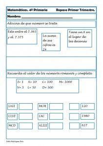 Matemáticas cuarto de primaria 19 | matematicas | Pinterest | El ...