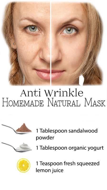 Homemade facial masks for wrinkles