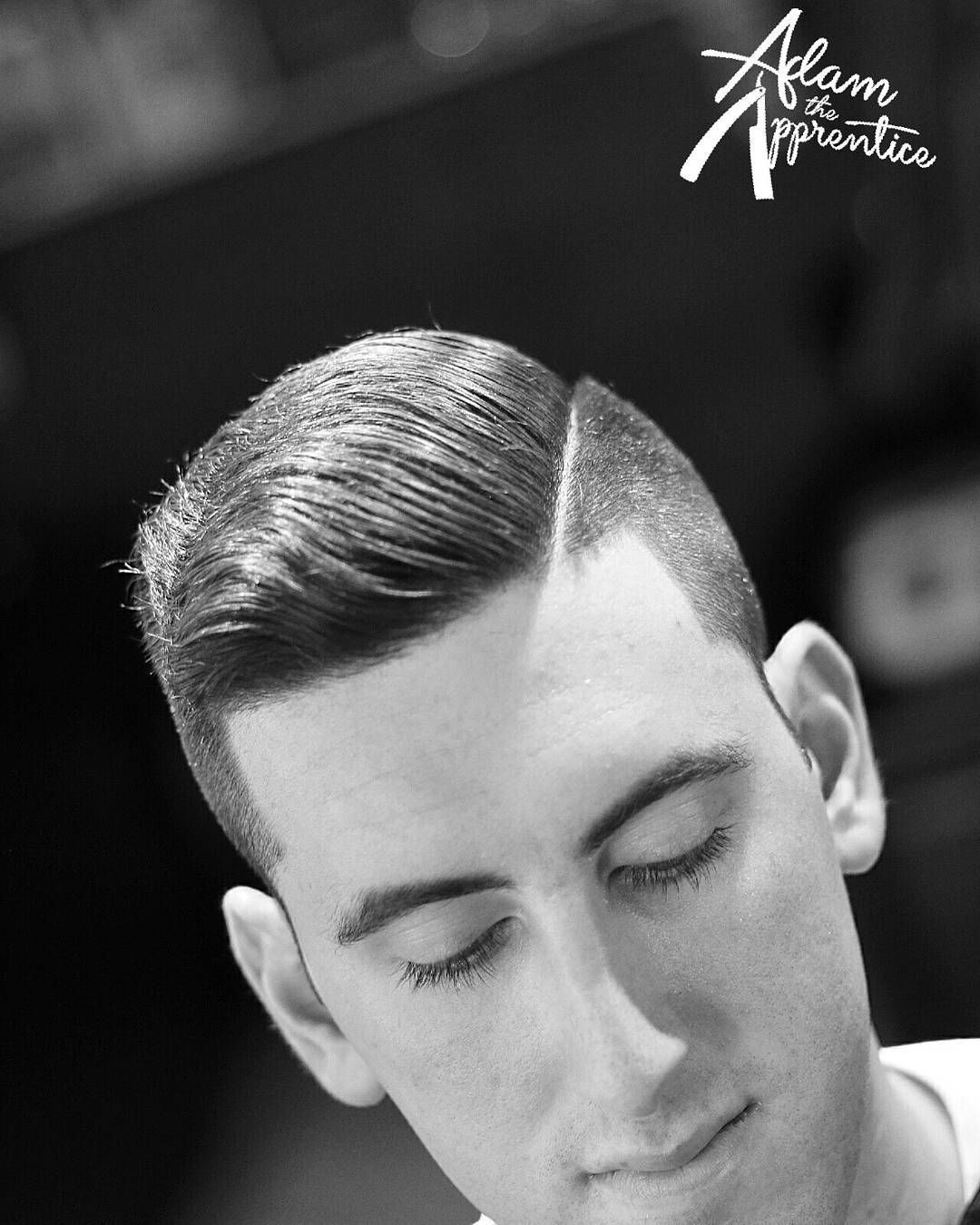 Haircut by adamtheapprentice http://ift.tt/1YvXIFe #menshair #menshairstyles #menshaircuts #hairstylesformen #coolhaircuts #coolhairstyles #haircuts #hairstyles #barbers