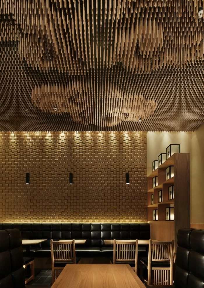 Decken Design ein decken design aus holz ceiling decken holz und