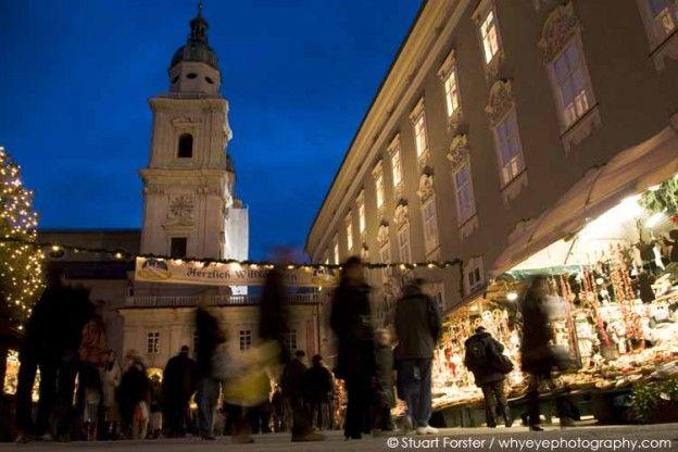 Salzburg Christmas Markets. Photo by Stuart Forster.