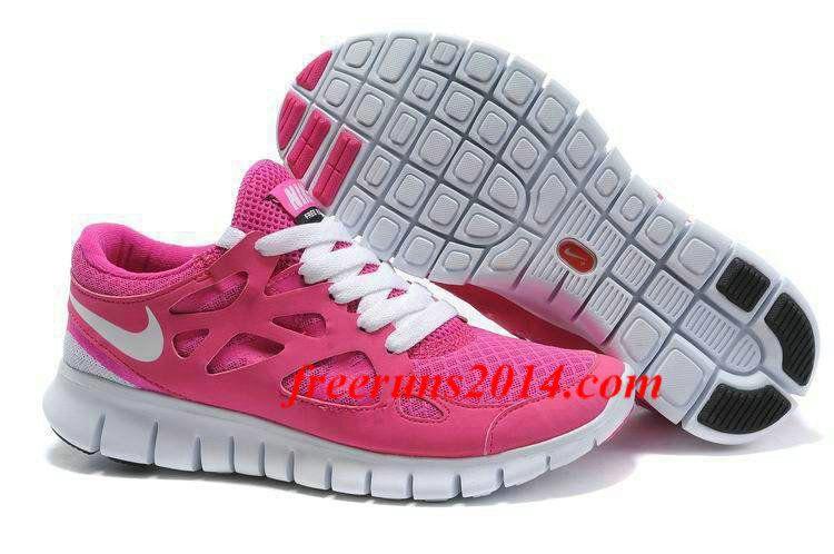 Nike Free Run 2 Womens Running Shoe Pink White