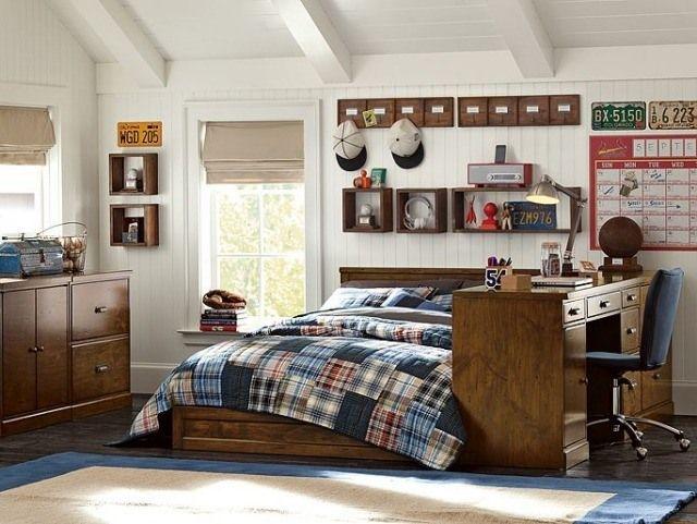 82 idées aménagement chambre ado garçon à l\'américaine | Bedrooms ...