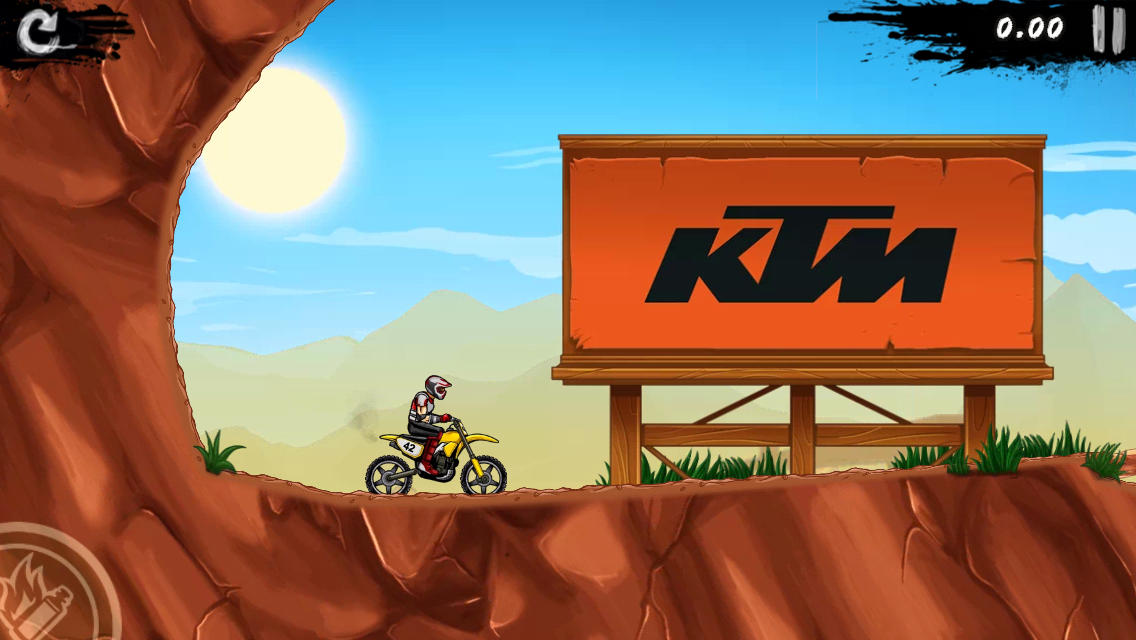 KTM in Bike Rivals