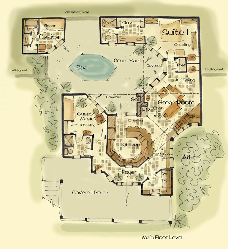 The Waltons House Plan Custom House Plans with A Point of View – Floor Plan Of The Waltons House