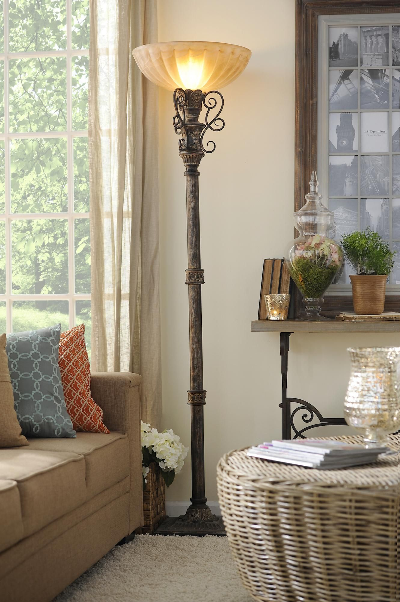 Explore Torchiere Lamp Tuscan Decor And More