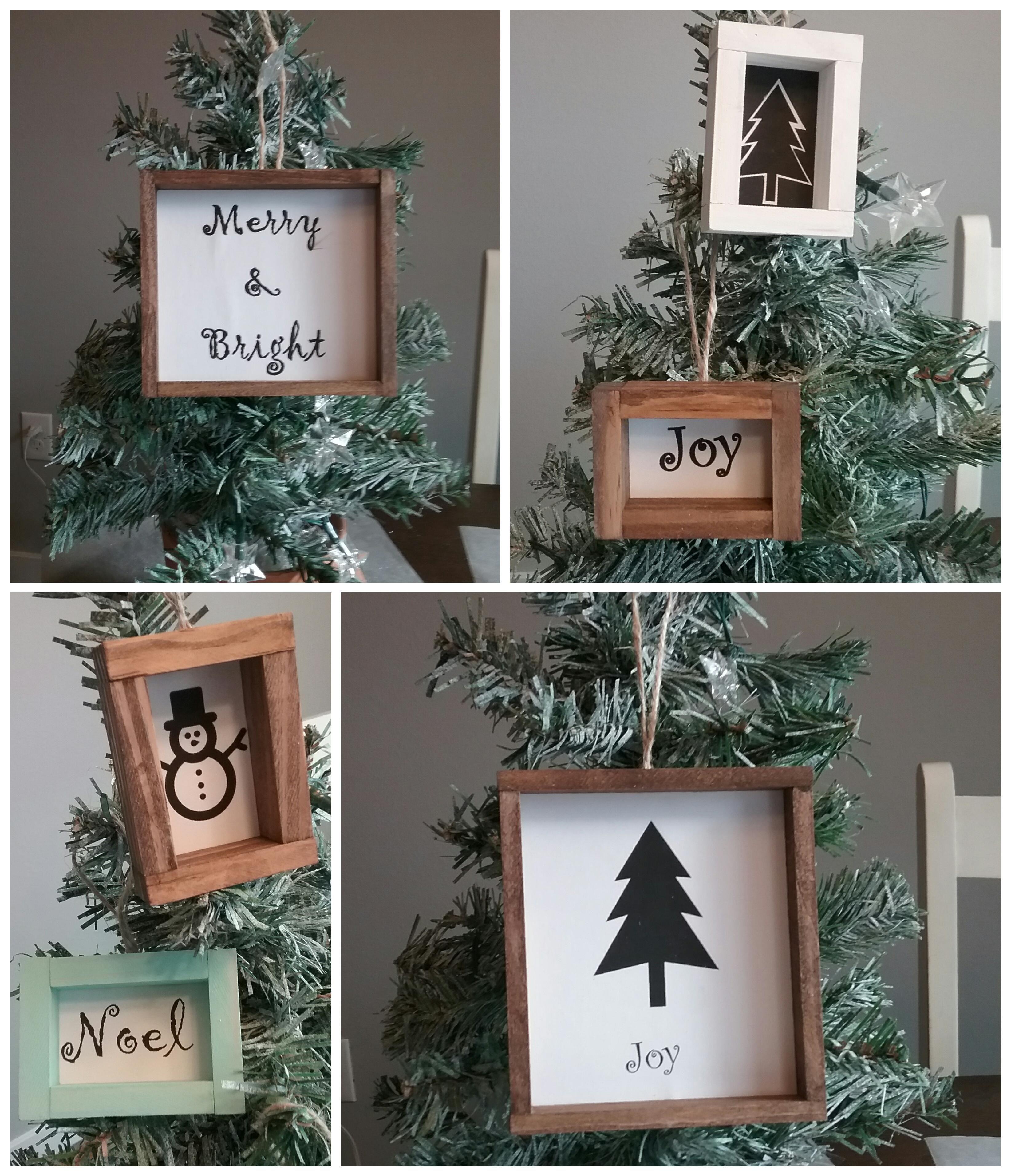 Dollar Tree Farmhouse Wood Christmas Ornaments Dollar Tree Diy Crafts Dollar Tree Diy Dollar Tree Crafts