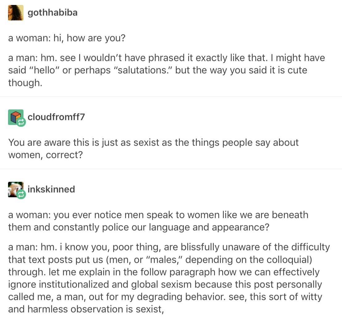 sexism paragraph