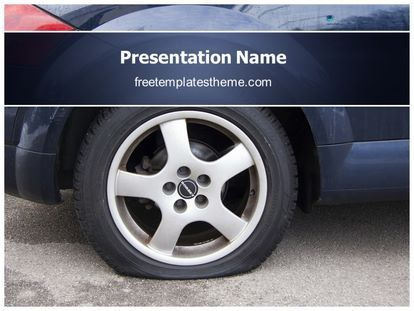 Download free flat tire powerpoint template for your download free flat tire powerpoint template for your powerpoint toneelgroepblik Gallery