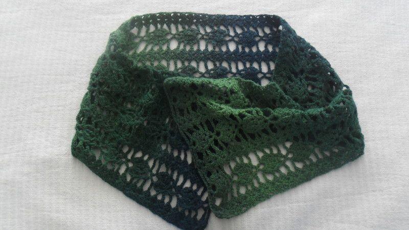 wollen omslagdoek/shawl van GraagGehaakt op DaWanda.com