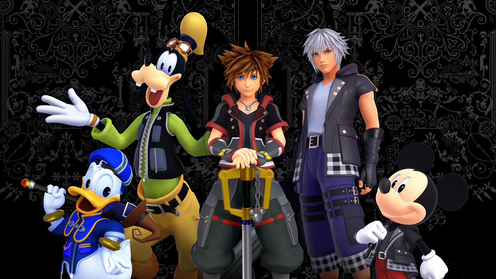 Video Game Kingdom Hearts Iii Kingdom Hearts Sora Kingdom Hearts Donald Duck Goofy Riku Kingdom Kingdom Hearts Sora Kingdom Hearts Kingdom Hearts Wallpaper