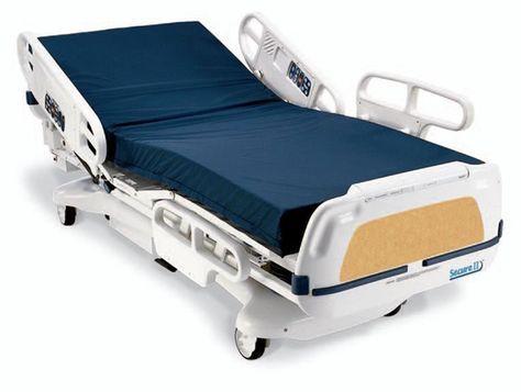 Stryker Secure Ii Hospital Bed Hospital Bed Bed Design Bed