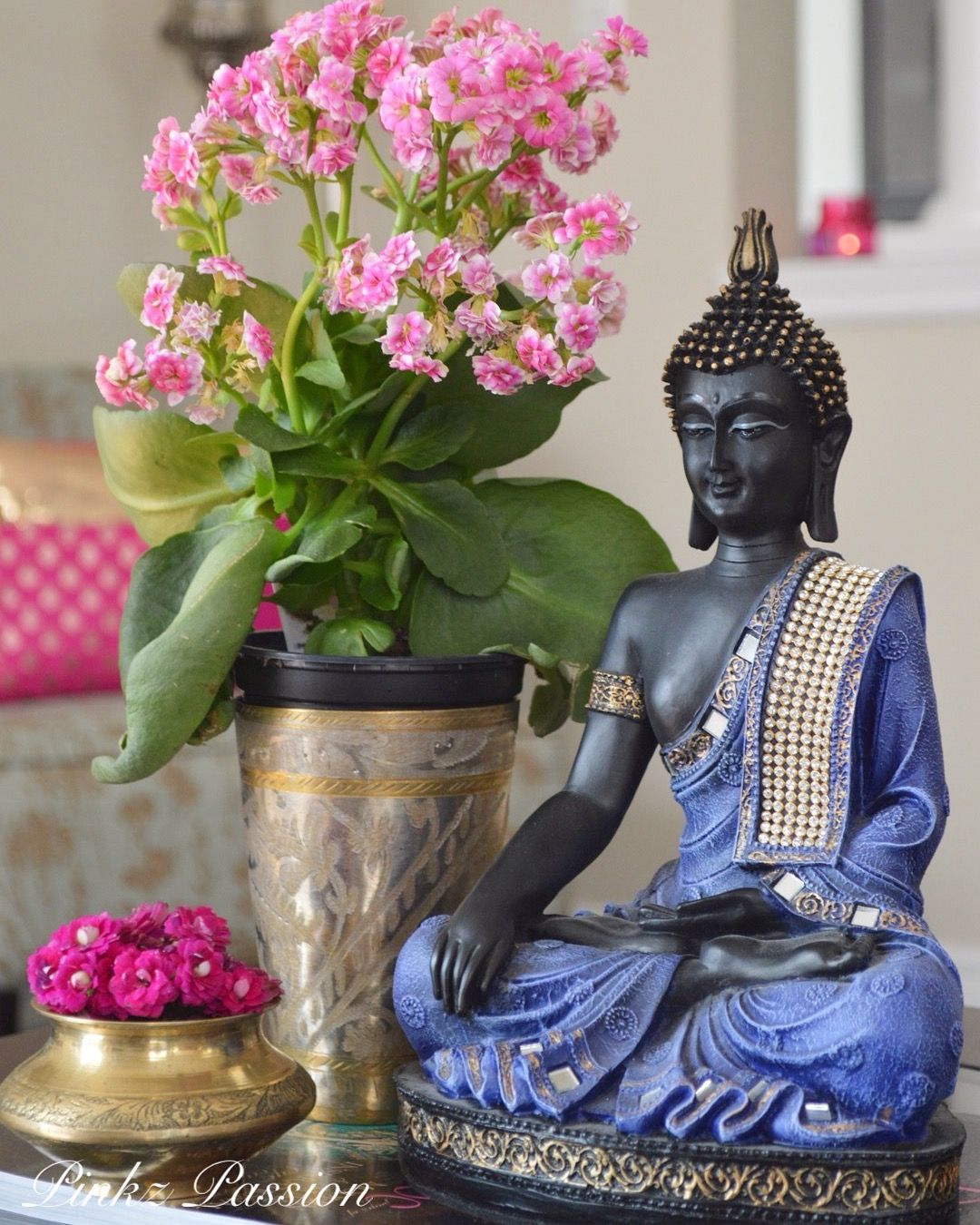 Buddha Peaceful Corner Zen Home Decor Interior Styling
