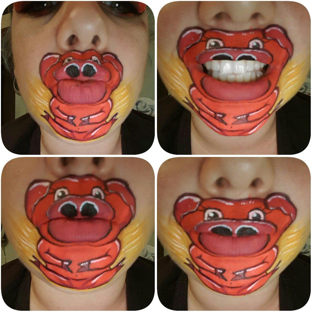 Fun on the farm #enchantedbrush #facepaint #facepainting #facepainter #facepaintart #glasgowfacepainter #mouthpainting #mouthart #pigfacepaint #pigfacepainting #oink #pig #pigs #onthefarm #lipart #lippaint