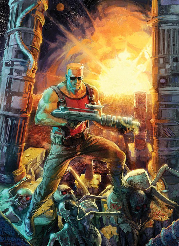 Duke Nukem II Remake cover by Xermanico | Duke Nukem | Duke