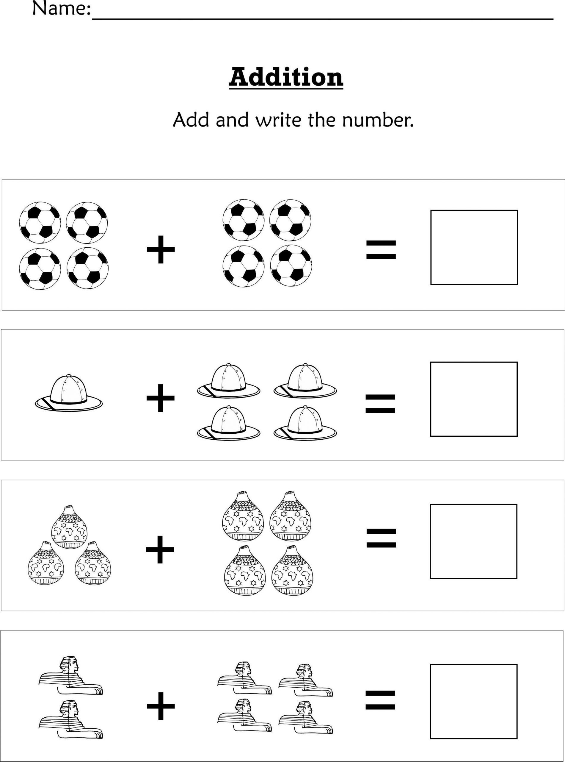 7 Preschool Worksheets In With Images