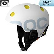 POC Receptor Backcountry Helmet 2014, White, medium