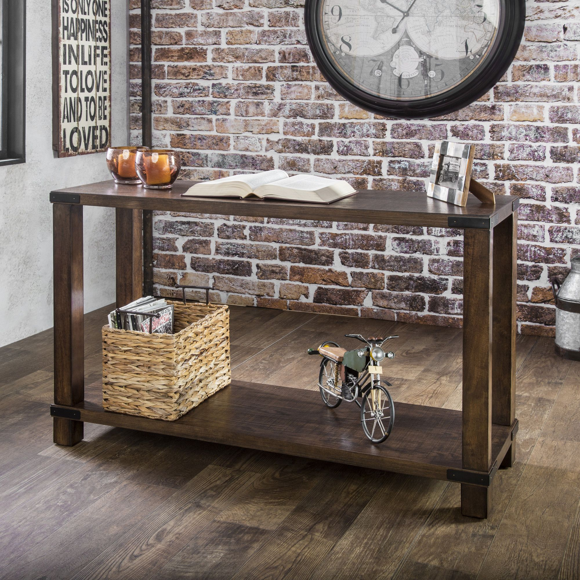 Hallway furniture oak Atlantic Console Table  Products  Pinterest  Console tables and