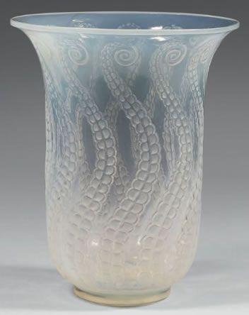 R Lalique Vase Meduse Circa 1921 Ren Lalique Glass Pinterest