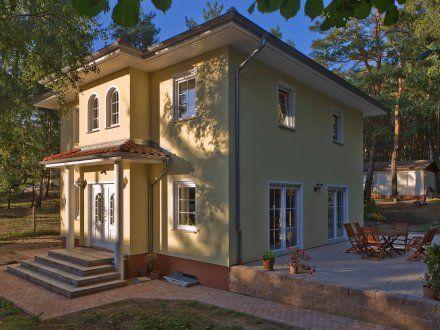 Stadtvillen Villa Lugana (Putzfassade), Hauseingang und