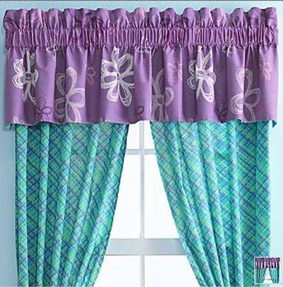 cortinas moradas para nias buscar con google