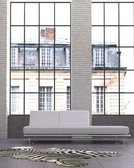 sprossen modern loft in 2018 pinterest sprossen sprossenfenster und fenster. Black Bedroom Furniture Sets. Home Design Ideas