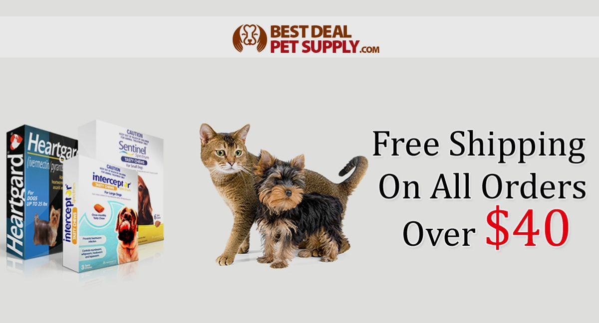 BestDealPetSupply Free Shipping On All Orders Over 40