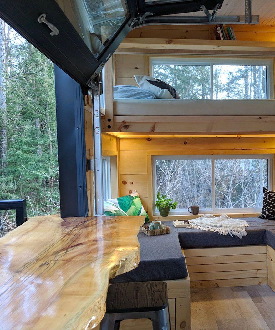Joni by Cabinscape Tiny Living Tiny house decor Tiny hous