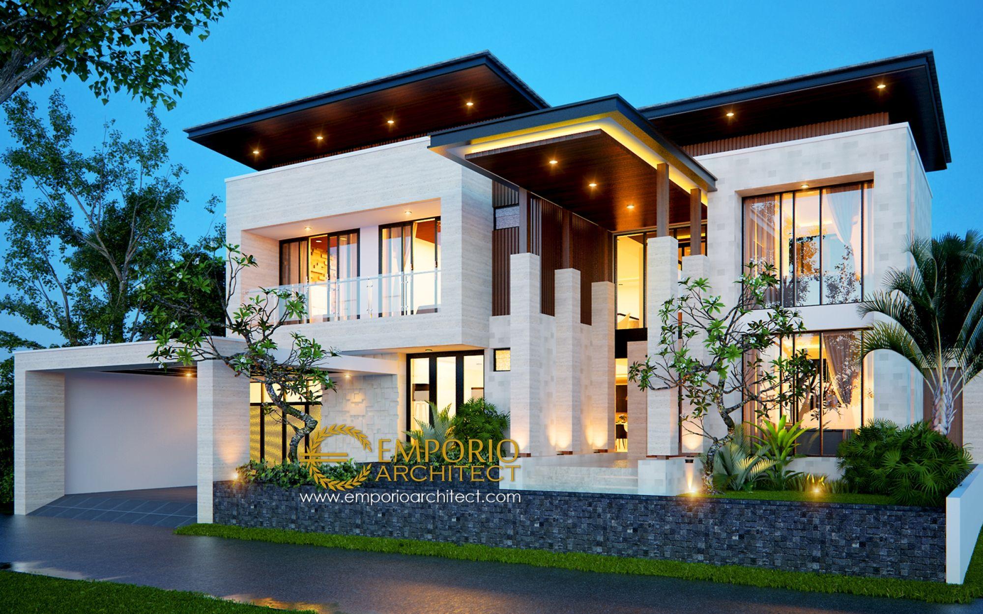 Jasa Arsitek Bsd Tangerang Banten Desain Rumah Ibu Friska
