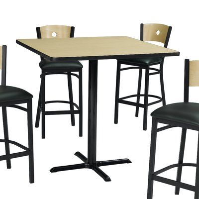 Premier Hospitality Furniture Pub Table Top Color: Figured Mahogany